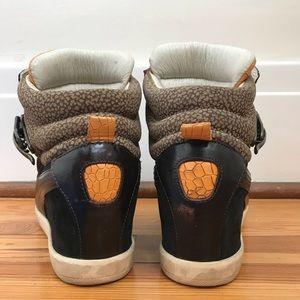Puma Shoes - Alexander McQueen for Puma Joustesse Wedge Black
